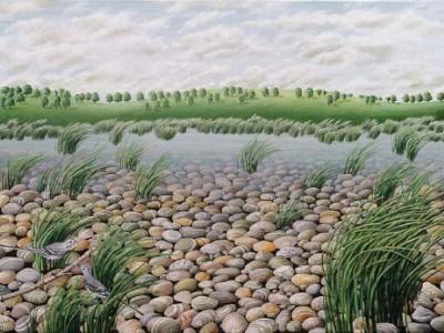 Magdolna Keel: Wasserlandschaften und Stillleben