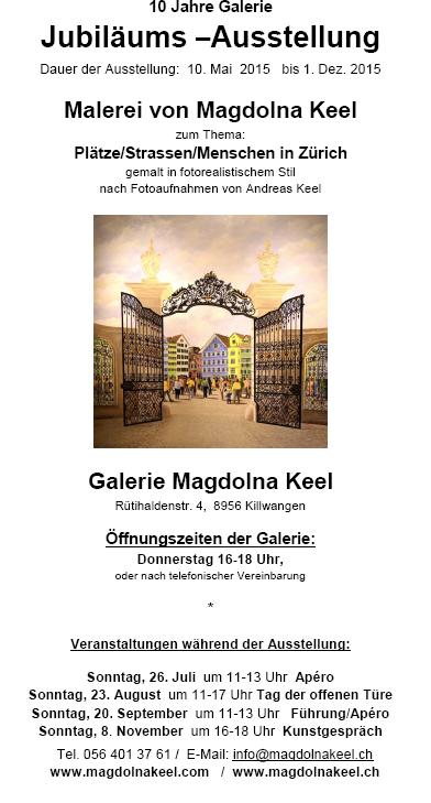 Magdolna Keel: 10 Jahre Jubiläum